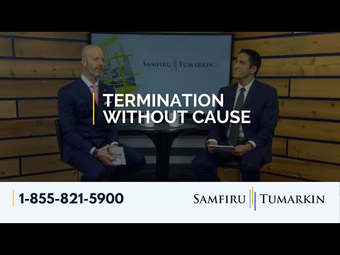 Termination Without Cause – Employment Law Show: S4E7