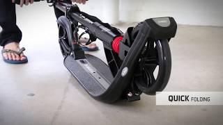 Складной двухколёсный самокат Kickscooter D MAX 9 с большими колёсами 200 мм и амортизаторами(, 2017-07-17T20:00:54.000Z)