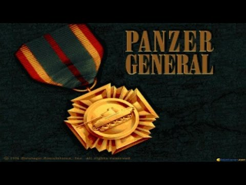 Panzer General gameplay (PC Game, 1994)