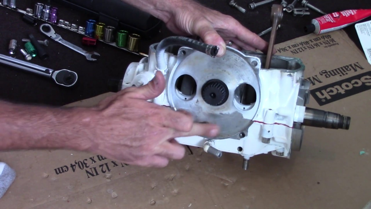 Seadoo Engine Crankcase Bottom End Assembly