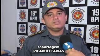 Plantão Polícia Militar 19°BPM em Pedreiras-MA 15-10-2018.