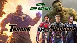 Avengers vs Thanos | Rap Battle | Avengers End Game