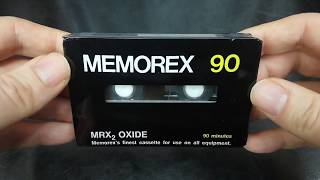 "1974 Memorex MRX2 Cassette - The ""Bad Boy"" You've Been Warned Not To Bother With"