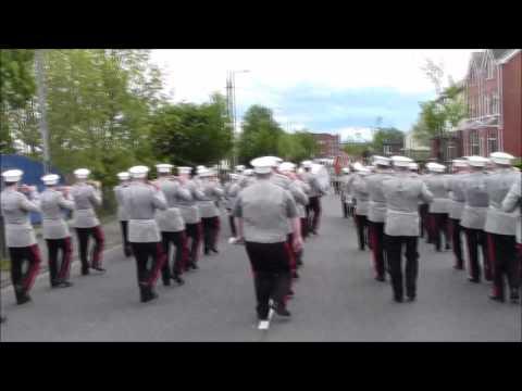 Shankill Protestant Boys @36th Ulster Regimental Bands Ass Parade 2016