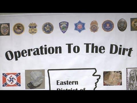 54 white supremacists arrested for multiple violent crimes in
