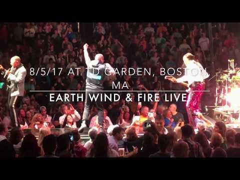 Earth Wind & Fire at TD Garden, Boston, MA 8/5/17