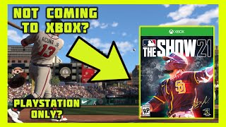 MLB The Show 21 Not Coming to Xbox?