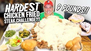 Biggest Chicken Fried Steak Challenge in Muskogee, Oklahoma!!