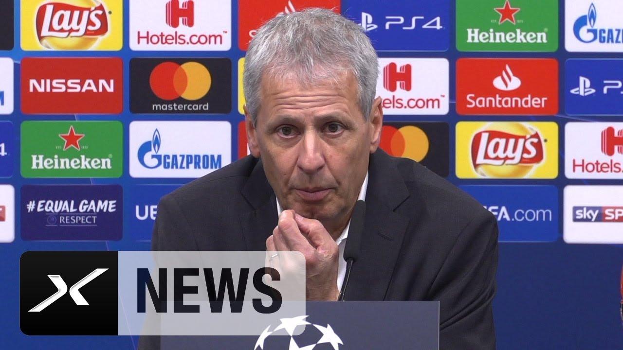So analysiert Lucien Favre die 4:0-Gala | Borussia Dortmund - Atletico Madrid 4:0 | Champions League