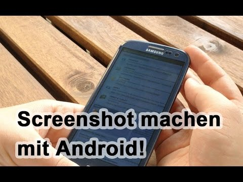 Android Screenshot Machen!