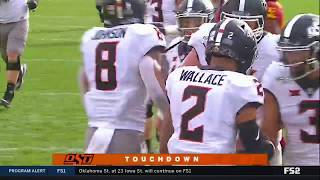 Oklahoma State Wide-Receiver Tylan Wallace Goes FULL Beast Mode