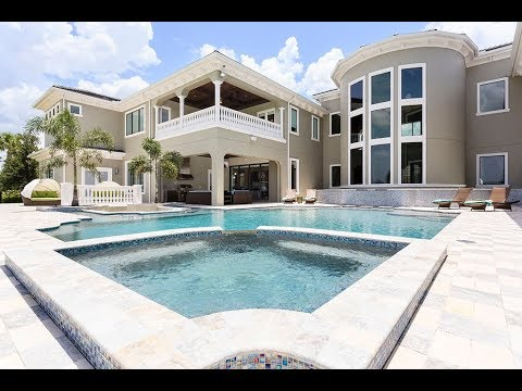 resort vacation rental 9 bedroom villa in orlando vr360 youtube