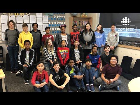 """Just Fine"" - École Sage Creek School #CBCMusicClass"
