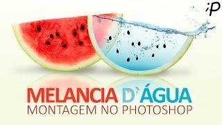 Montagem no Photoshop: Efeito Melancia de Água