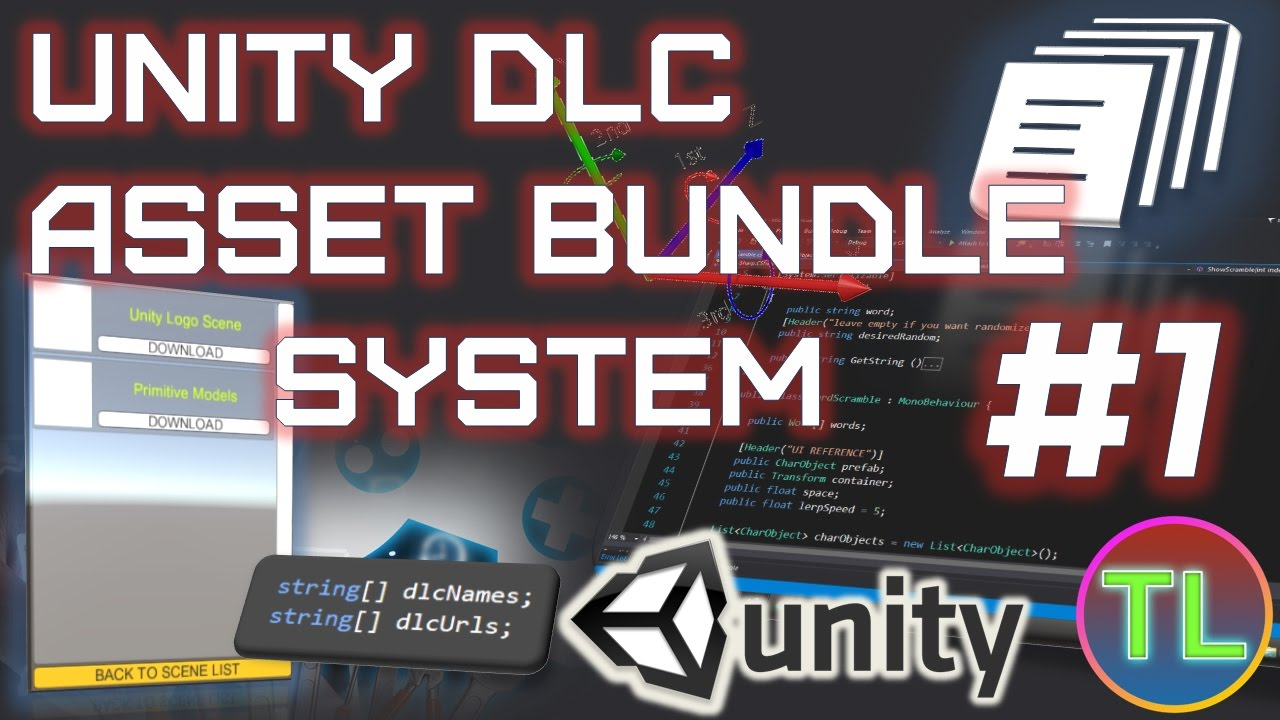 Unity 5 - Asset Bundle DLC System Part 1 - Load Scene From Asset Bundle