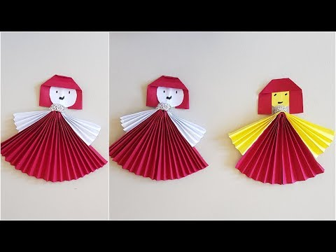 DIY Paper Doll | How to make an Origami Doll for Kids