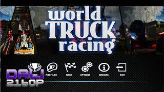 World Truck Racing PC 4K Gameplay 2160p