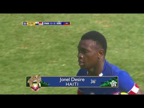 CU20 2017: Panama vs Haiti Highlights