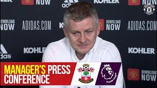 Manager's Press Conference   Manchester United v Southampton   Ole Gunnar Solskjaer   Premier League