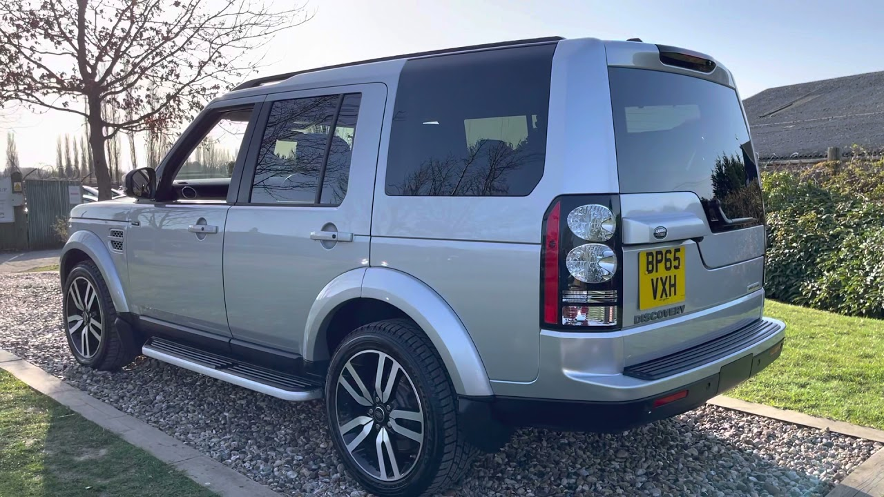 2016/65 Rhodium Silver Landrover Discovery 4 HSE Luxury 2 owners Rear DVD Screens ULEZ 3 History