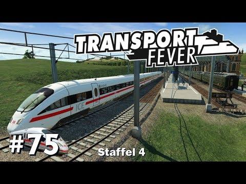Transport Fever S4/#75: Die ICE-Strecke wird fertig [Let's Play][Gameplay][German][Deutsch]