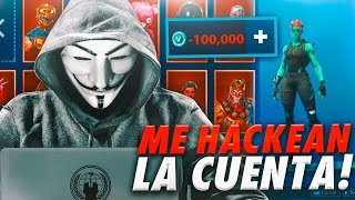 A HACKER HACKMeA My Fortnite Account et 'Ends Bad...'