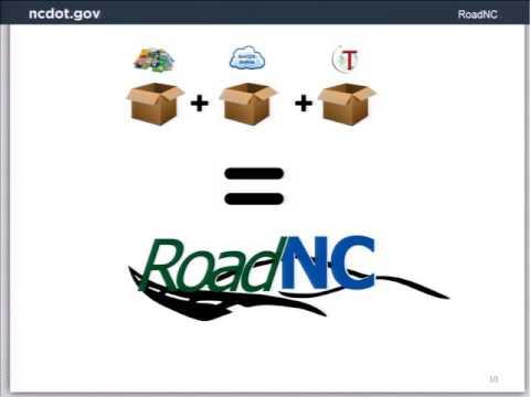 NCDOT Road Analyzer