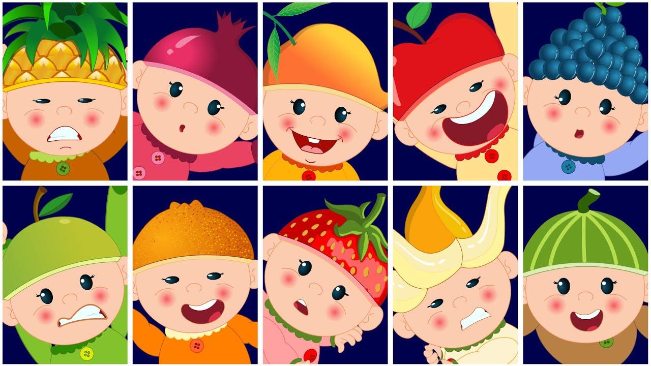 Nursery Rhymes By Kids Baby Club Ten In The Bed
