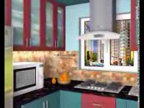 Modular Kitchen Design Kolkata modular kitchen cabinets in kolkata, howrah low price - youtube