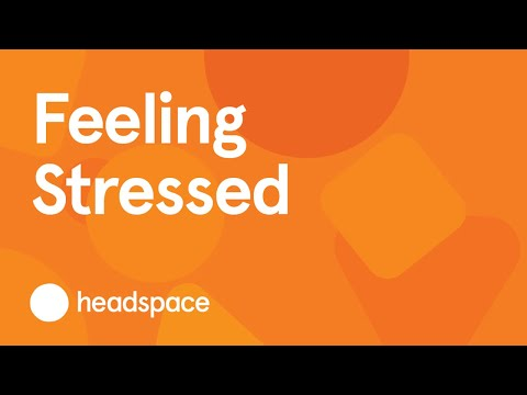 STRESSED? Learn to reframe stressful situations with this short meditation.