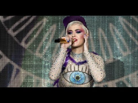 Katy Perry Crowd Surfed at the End of Her Glastonbury Set thumbnail