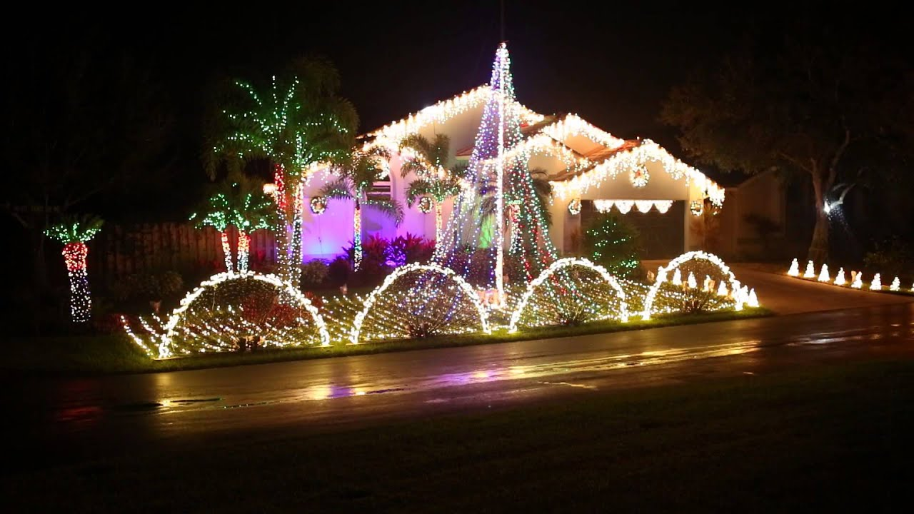 light up florida 2013 animated christmas lights display 1080p youtube