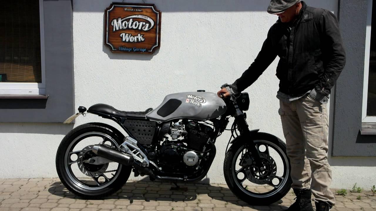 Bekannt Yamaha XJ 600 cafe racer, built Motors Work Vintage Garage, www  JA23