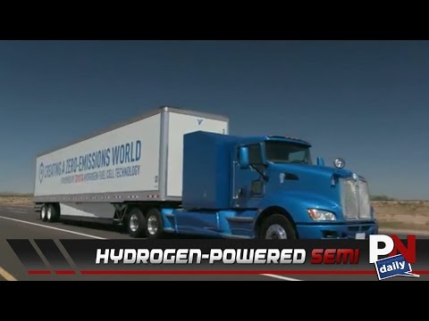 Toyota's Experimental Hydrogen-Powered Semi Is A Powerhouse