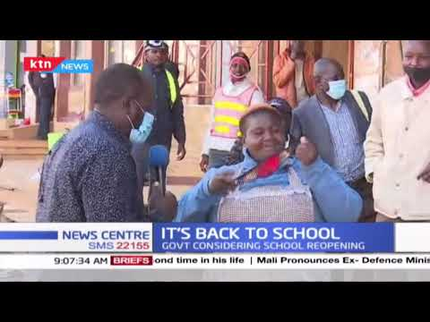"""We are not ready for school re-opening,"" Parents tell education CS George Magoha"