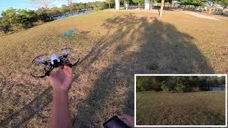 Parrot Mambo FPV vs Dji Ryze Tello windy footage performance!!