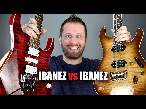 Ibanez RG vs S Series! - Which Guitar is Right For You?