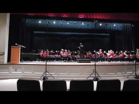 Loganville Middle School Band LGPE 2016 (Songs of the Whalemen)