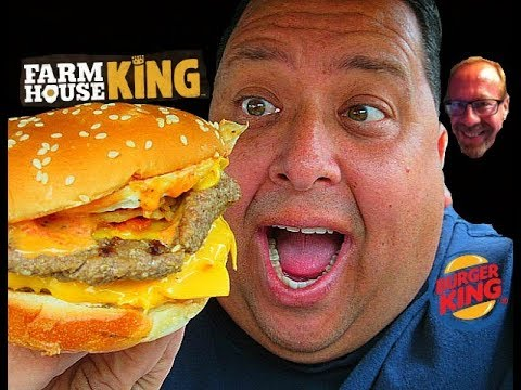 Burger King® Farmhouse King REVIEW with JKMCraveTV!
