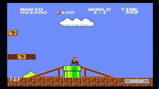 марио брос инвалид . вот раньше игры были! ))) . игра ржач mario bros old scool games