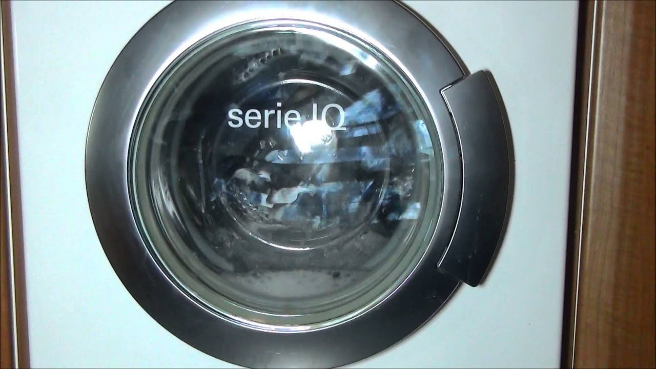 siemens iq1430 serie washing machine drum cleaning cycle youtube. Black Bedroom Furniture Sets. Home Design Ideas