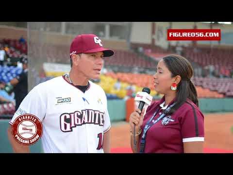 Entrevista con el dirigente de los Gigantes Pedro Lopez