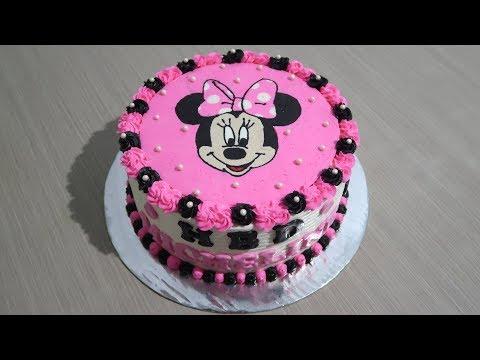 Kue Ulang Tahun Anak Perempuan Cara Menghias Kue Tart