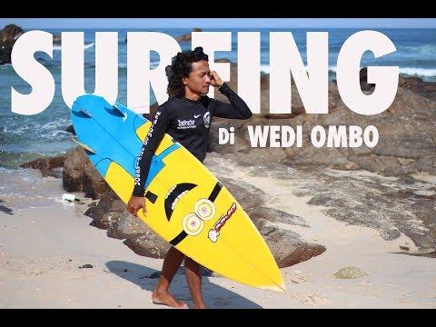 Pengangguran Daily #1 : Surfing di Pantai Wedi Ombo Gunung Kidul