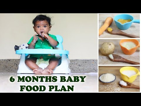 7-8 MONTHS OLD BABY FOOD PLAN in tamil |5 EASY BABY RECIPES