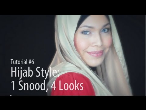 [Adlina Anis] Hijab Tutorial 6 | 1 Snood, 4 Looks