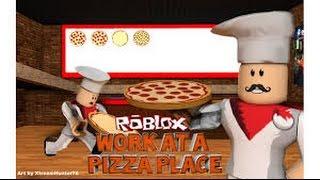 PERFECTION ] Travailler dans une pizzeria Roblox #1