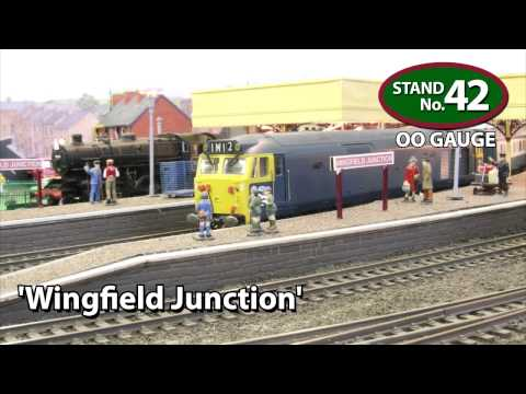 Festival of British Railway Modelling exhibition - Doncaster 2012 - Model Railway Layouts