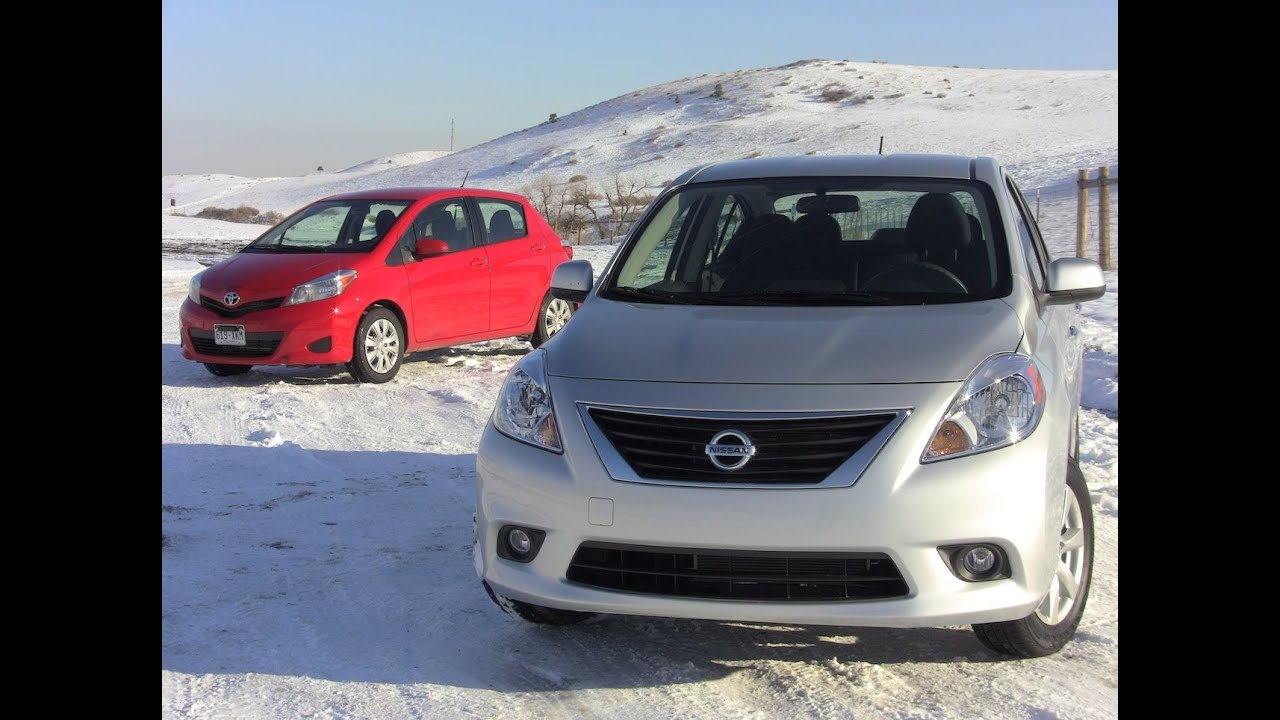 2012 nissan versa vs toyota yaris mashup review 0 60 mph drive 2012 nissan versa vs toyota yaris mashup review 0 60 mph drive youtube vanachro Choice Image