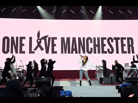 All Ariana Grandes songs during One Love Manchester concert